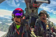 Jogja Air Show digelar, Sri Sultan ucapkan selamat dari atas pesawat