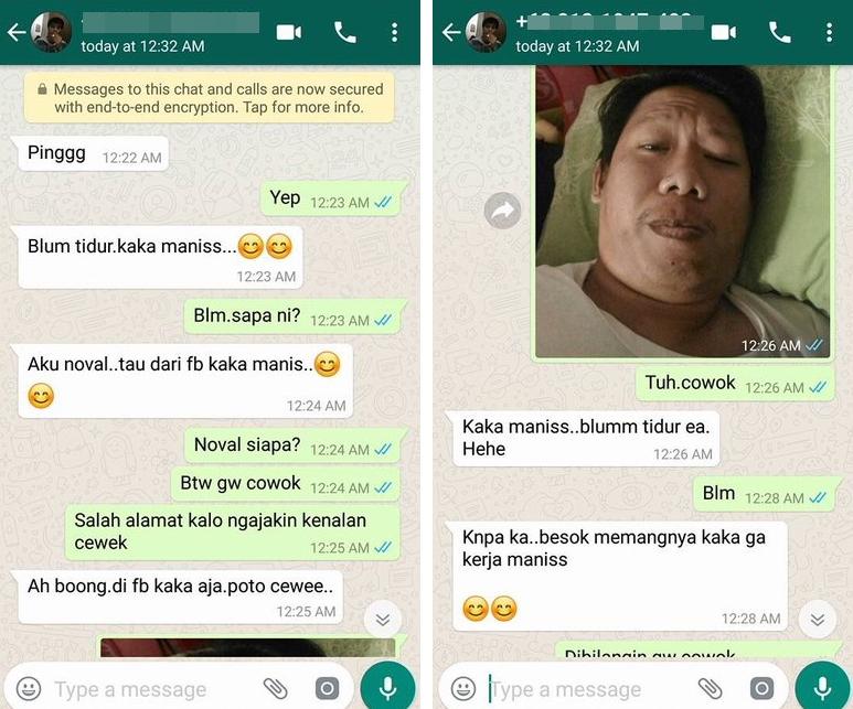 Chat salah sambung ini absurd sekaligus bikin ketawa ngakak © 2018 berbagai sumber