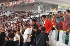Viral, video Anies Baswedan mau selamati Persija dihadang Paspampres