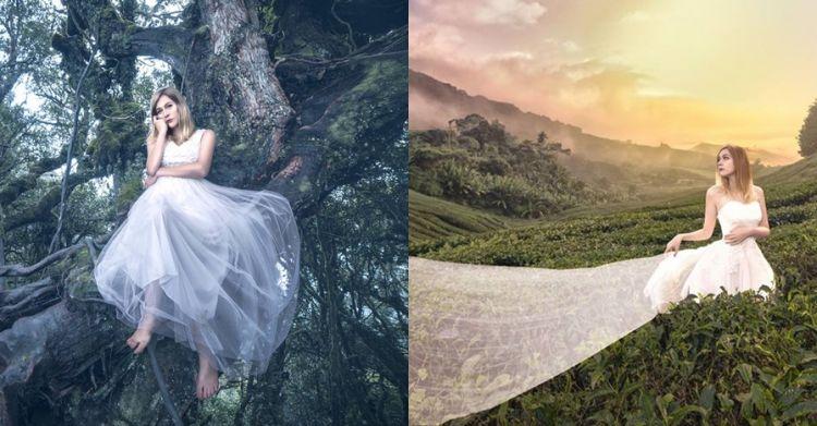 Harga gaun pengantin di foto memesona ini mengejutkan, murah banget