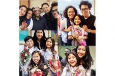 7 Momen nostalgia Sherina Munaf bareng kru Petualangan Sherina