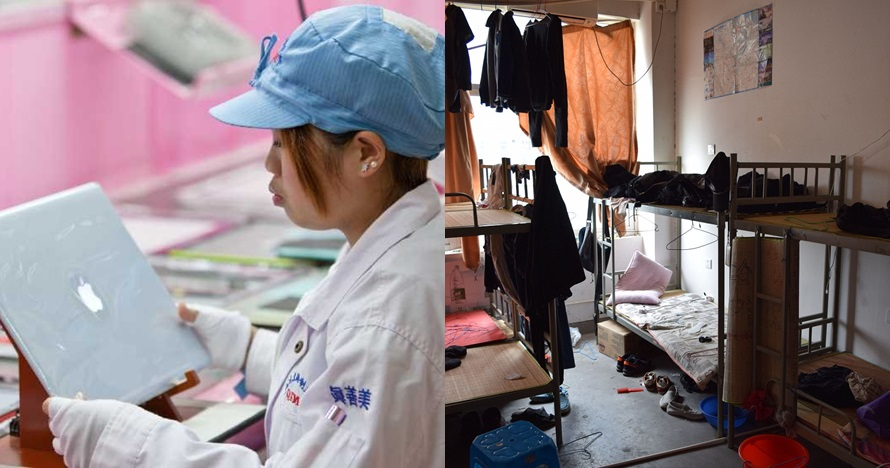 10 Fakta miris karyawan pabrik Apple di China, tak semewah produknya