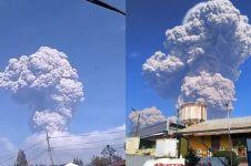 Gunung Sinabung meletus besar, masyarakat diminta waspada