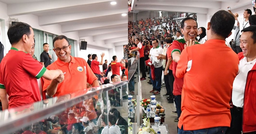 Momen akrab Jokowi & Anies sebelum insiden penghadangan Paspampres