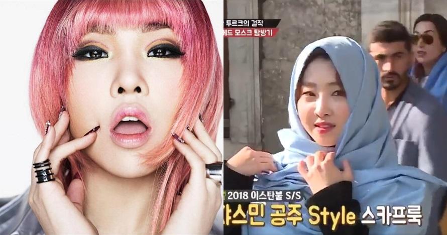 Setelah Suzy, Minzy eks 2NE1 juga ikutan tampil berhijab