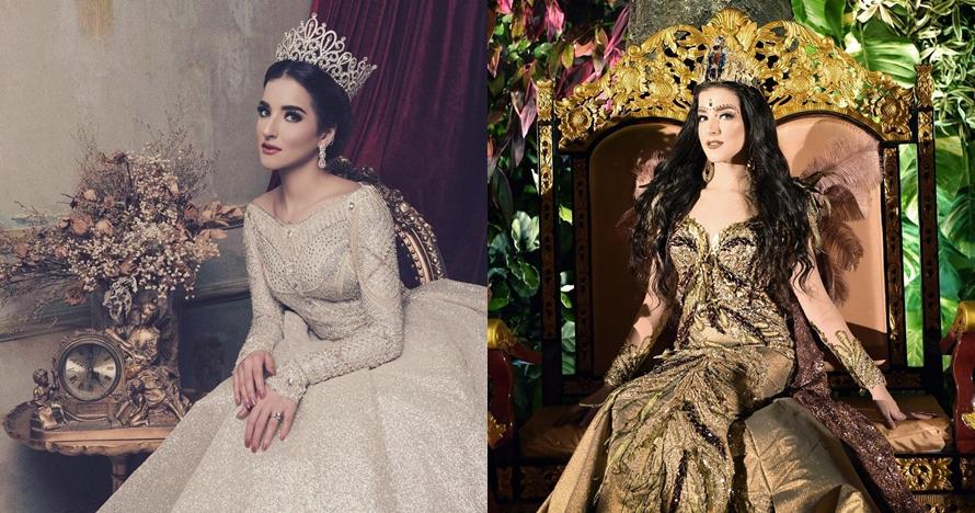 7 Pesona Tasya Farasya dengan berbagai gaun pengantin, cantik banget