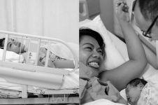 7 Momen bahagia persalinan Jenny Cortez, potret bayinya bikin gemes