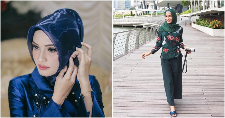 Elegan & simpel, ini 10 gaya fashion hijab ala istri gubernur Kalteng