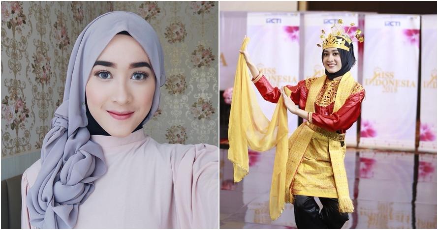 10 Pesona Raudha Kasmir, finalis berhijab di ajang Miss Indonesia 2018