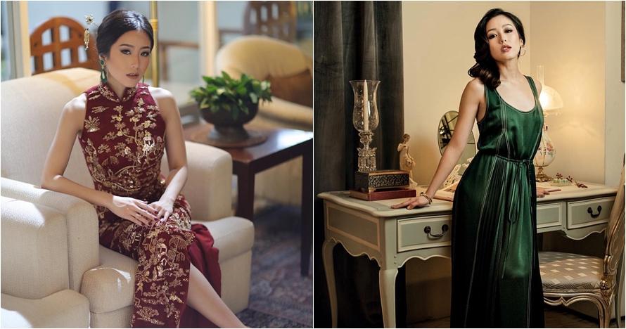 10 Pesona cantik dan glamor Ling Ling, menantu baru di keluarga Bakrie