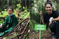 10 Aksi Bunga Jelitha saat melakukan misi penyelamatan orangutan