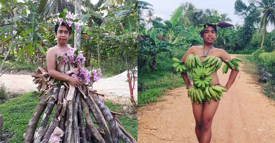 11 Gaun Mimi Peri tema alam ini kreatif, tapi bikin mules nahan tawa