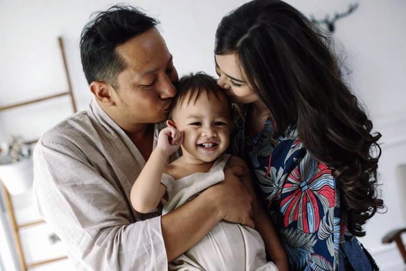 Rayakan ultah Bjorka, Ringgo galang dana untuk anak-anak down syndrome
