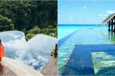 10 Desain kolam renang tanpa batas terbaik dunia, ada dari Indonesia
