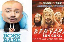 10 Editan poster film Benyamin Biang Kerok ini bikin susah nahan tawa