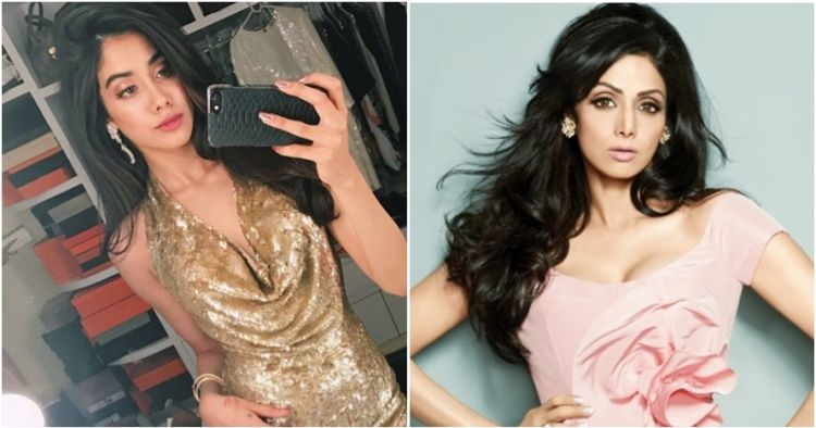 10 Pesona Janhvi, putri sulung Sridevi aktris legendaris Bollywood