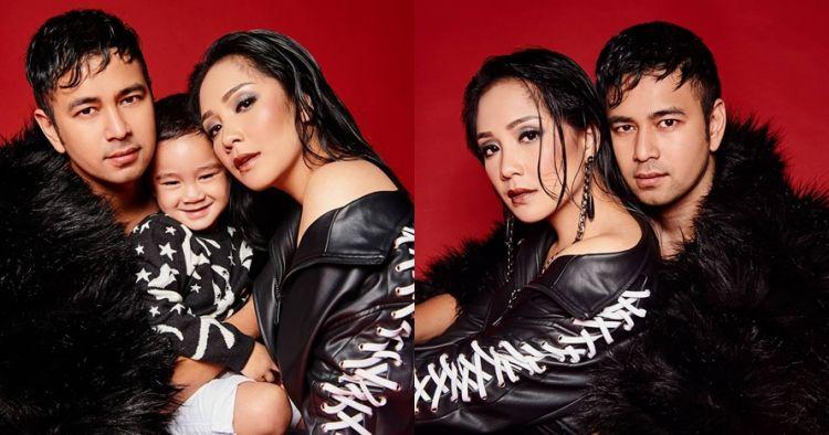 7 Foto pemotretan Raffi Ahmad & Nagita Slavina, fierce dan hot abis