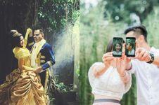 11 Inspirasi konsep pemotretan unik ala pasangan seleb, bisa kamu tiru