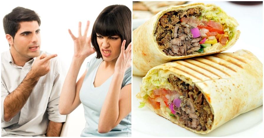 Gara-gara kebab, alasan istri ceraikan suami ini bikin kamu syok