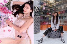 10 Foto koleksi tas Hermes sosialita Jamie Chua, isinya ratusan