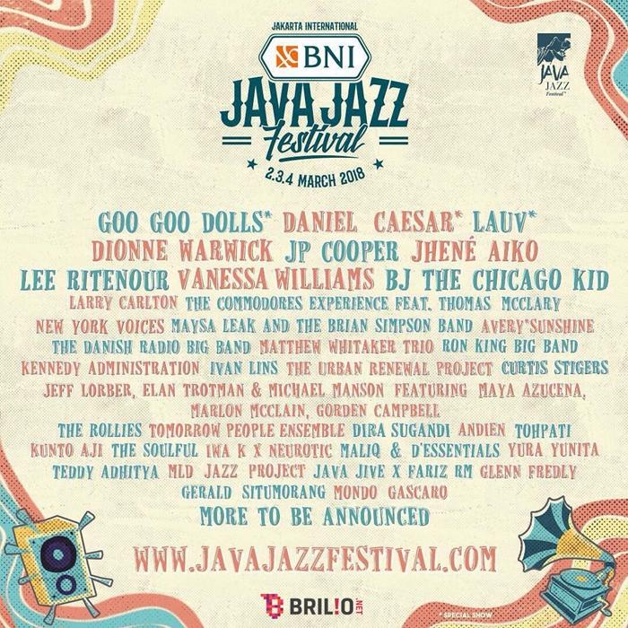 Java Jazz Festival 2018 siap menghibur penikmat musik jazz
