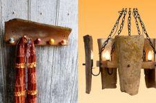 11 Inspirasi kece dekorasi rumah dari pecahan genteng, simpel & indah