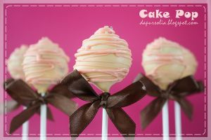 Resep mudah bikin cake pop, kue bolu unik berbentuk lolipop