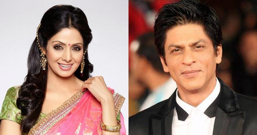 Terungkap, Sridevi pernah 2 kali tolak main film bareng Shah Rukh Khan