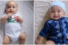 10 Potret bukti bayi Rachel Vennya sadar kamera, menggemaskan banget