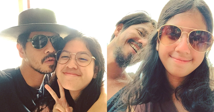 10 Bukti Ariyo Wahab dan putrinya akrab bak teman sebaya, kompak abis