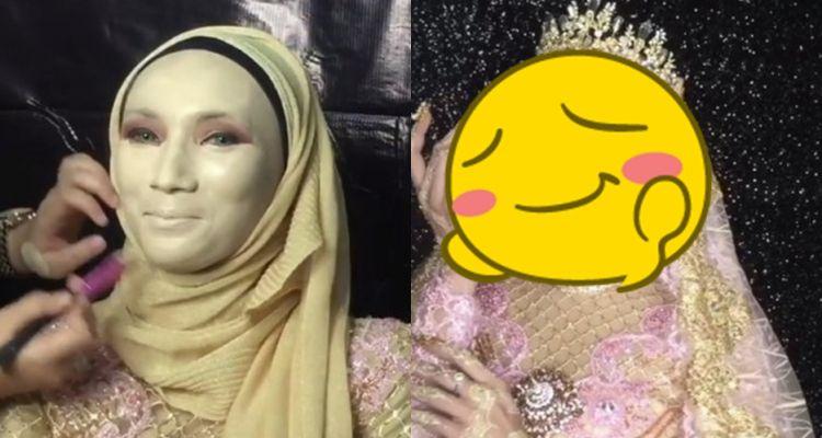 Awalnya tampak meragukan, hasil makeup wanita ini bikin kamu terpesona