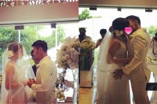 Nikah diam-diam, ini 8 momen pernikahan Putri Marino & Chicco Jerikho