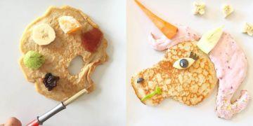 10 Kreasi bentuk pancake ini kreatif abis, dari kaktus sampai kloset