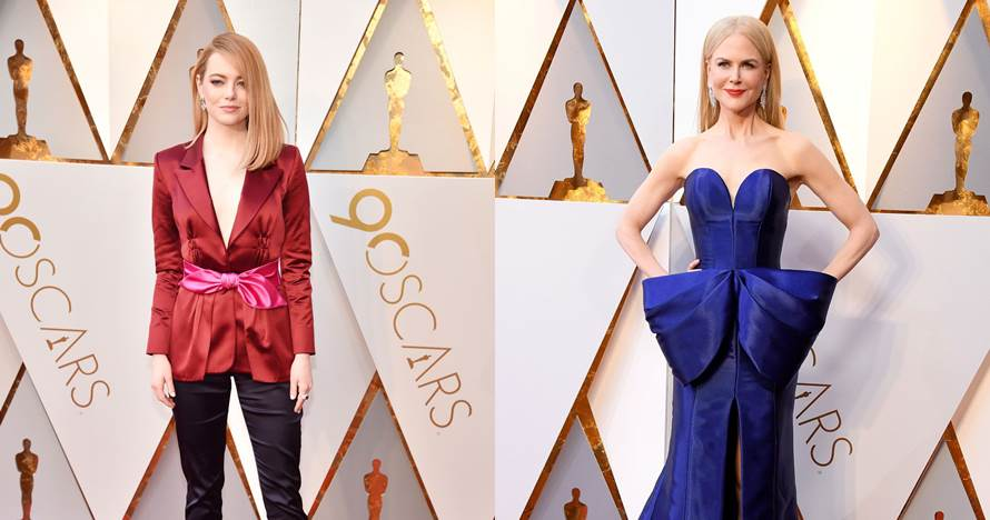 10 Seleb cantik dengan busana terbaik di ajang penghargaan Oscar 2018