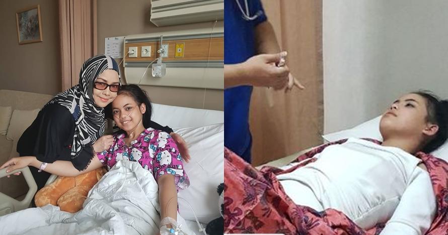 Tampak lesu, ini 10 kondisi Putri Dangdut Academy saat dirawat di RS