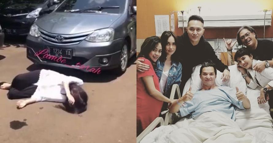 5 Seleb Indonesia ini mengalami kecelakaan saat syuting