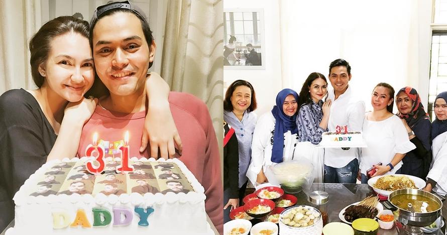 5 Momen Alessia Cestaro rayakan ulang tahun suami, penuh kasih sayang