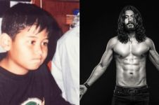 10 Transformasi penampilan Chicco Jerikho, dari gemuk hingga atletis
