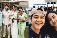 10 Momen mesra Malvino & Inne Azri, pasangan saksi nikah Putri Marino