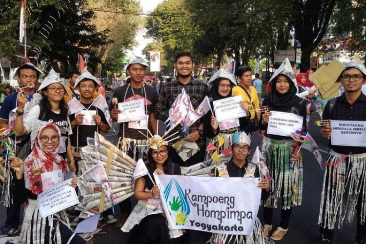 Kampoeng Hompimpa Jaga Asa Mainan Tradisional Di Tengah Candu Ga