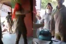 Alami kecelakaan, wanita ini marah besar pada pria yang menolongnya