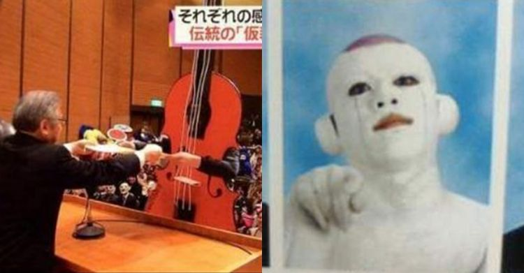 Kostum wisuda 5 mahasiswa Jepang bikin ngakak, ada yang jadi jenazah