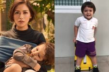 Tak seperti ibunya yang mewah, 10 fashion anak Jedar ini biasa saja