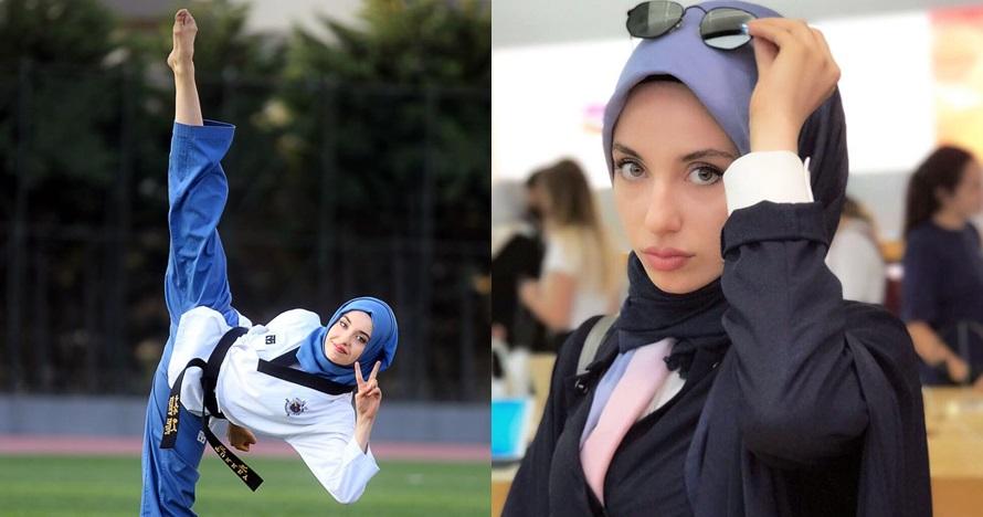 10 Pesona Dagli, hijaber cantik peraih medali emas taekwondo dunia