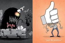 10 Komik ini gambarkan gelapnya dunia bagi penderita depresi berat