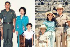 8 Foto jadul kebersamaan keluarga Susilo Bambang Yudhoyono, epik abis