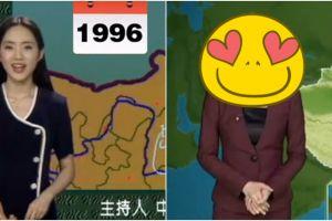 22 Tahun jadi penyiar cuaca, foto ini bukti sang presenter tak menua