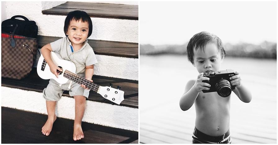 Baru usia 1 tahun, ini 9 bukti Dia Sekala tekuni fotografi sejak kecil