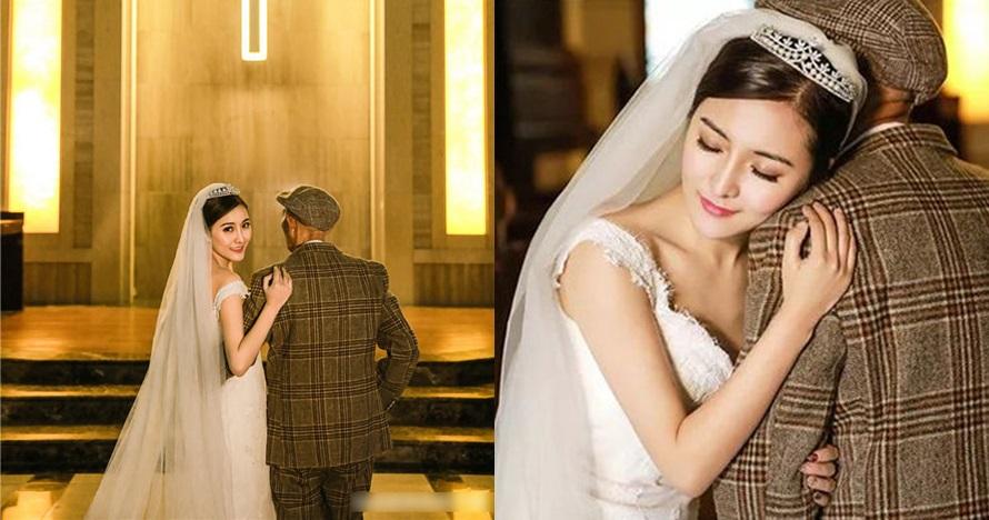 Cewek ini lakukan foto pernikahan dengan kakek, alasannya bikin haru