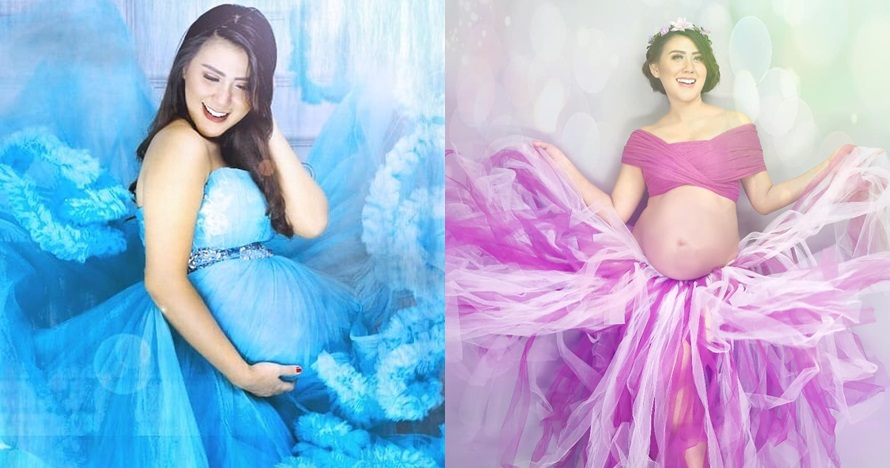 Bersiap lahiran anak kedua, begini 10 foto maternity Rey Utami